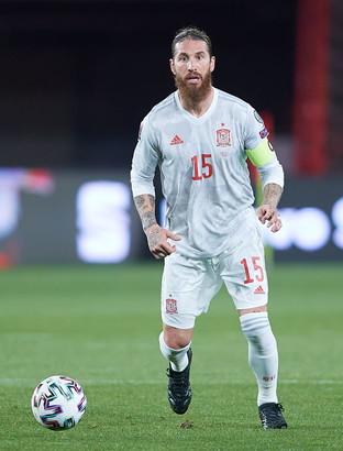 Sergio Ramos (non convocato dalla Spagna)