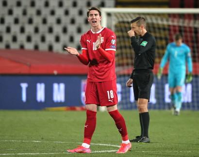 Dusan Vlahovic (la Serbia non è qualificata)