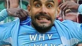"City ko, sui social Guardiola diventa Balotelli: ""Why always me?"""