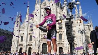 Giro d'Italia: Bernal si prende anche la maglia bianca, a Sagan la ciclamino