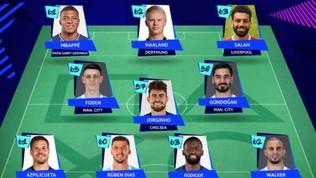 Champions, si parla (quasi) solo inglese: Jorginho nella squadra dell'anno