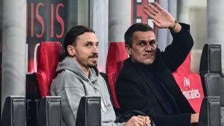 """Milan, festa con i tifosi sotto la sede. Maldini: """"Grazie, ma è solo l'inizio"""""""