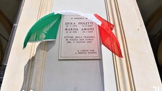 Juve, una targa per Erika e Marisa: le vittime di Piazza San Carlo