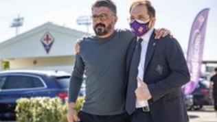 Gattusoentra nel mondo viola: prima visita al centro sportivo