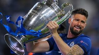 Milan, Giroud uomo Champions: sul podio dei gol più belli