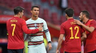 Spagna e Portogallo non si fanno male, è 0-0 nell'amichevole di Madrid
