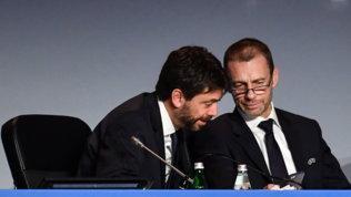 """Super League, Ceferinnon abbassa i toni: """"Per me Agnelli non esiste più"""""""