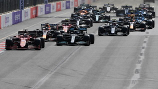 "È di Perez la ""sprint race"" di Baku"