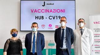 La Juve in campo contro il Covid, il J|Medical diventa hub vaccinale