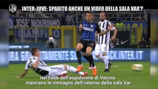 Inter-Juventus 2018: manca il video Var del rosso a Vecino