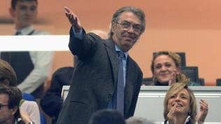 """Moratti: """"Conte professionista serio ma gli è mancato attaccamento"""""""