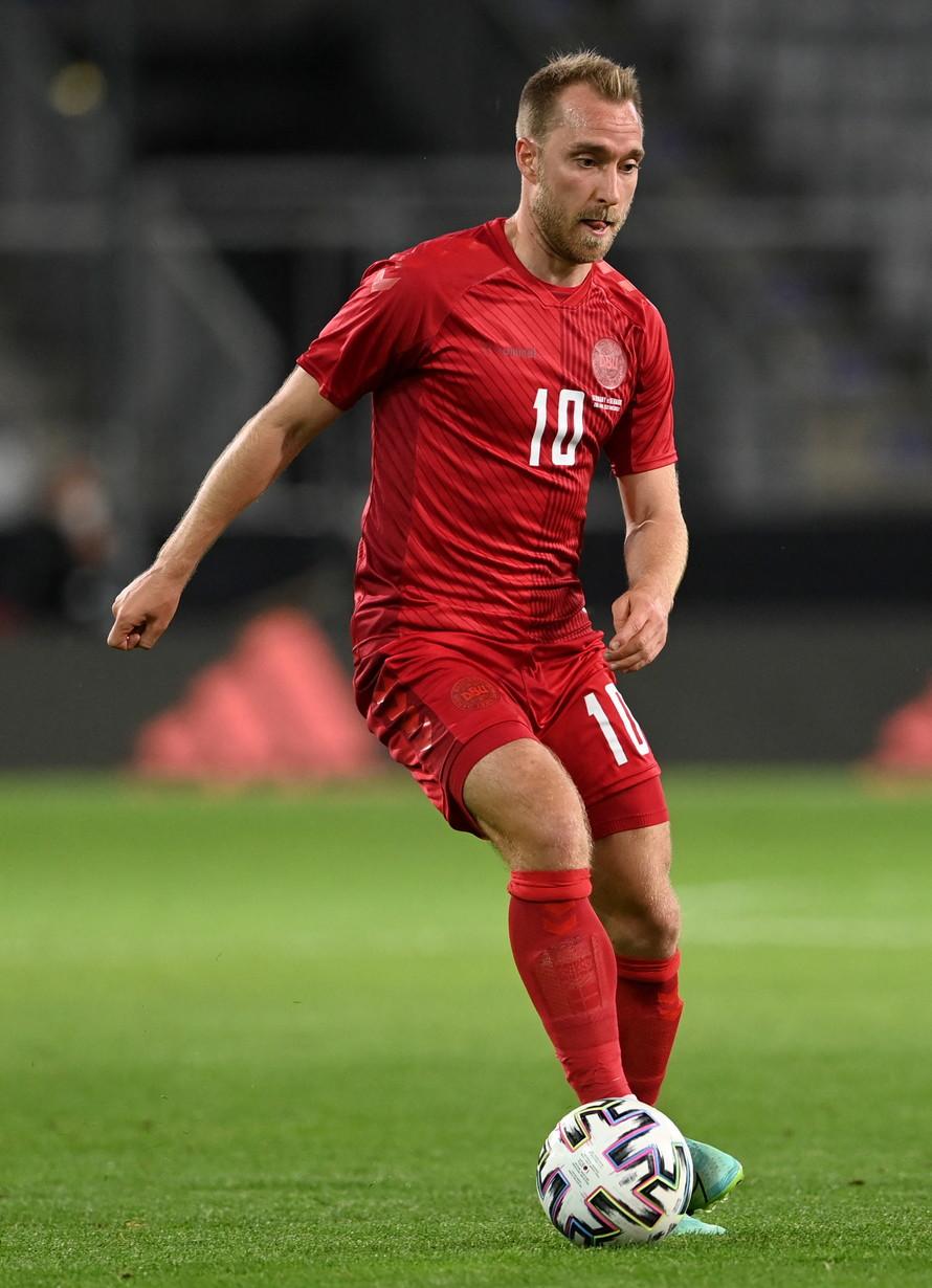 15) Eriksen, Danimarca/Inter: 40 milioni di euro