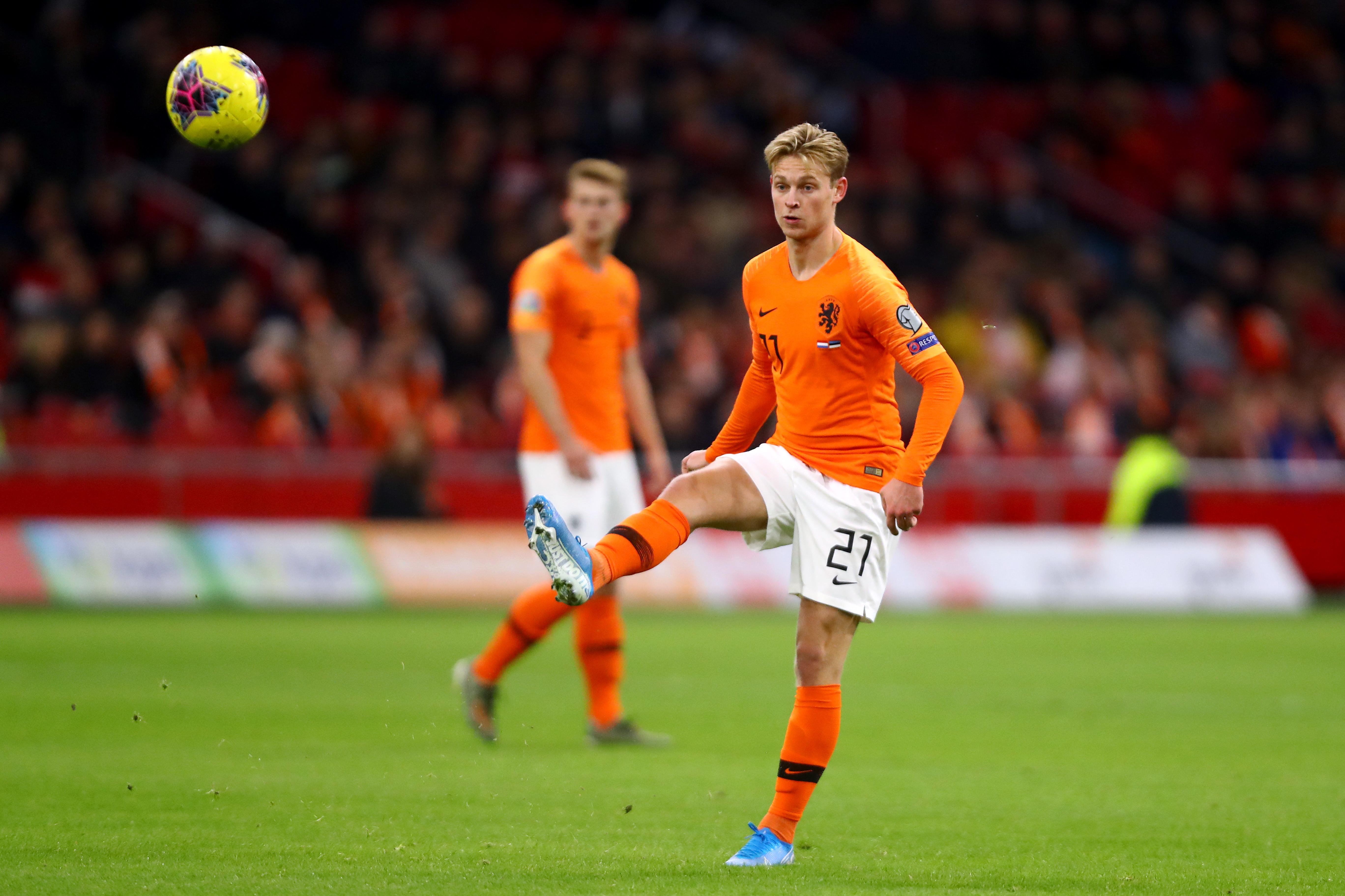 4) De Jong, Olanda/Barcellona: 90 milioni di euro