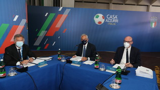 """L'auspicio di Gravina: """"Italia a Wembley per giocarsi dalle semifinali in avanti"""""""