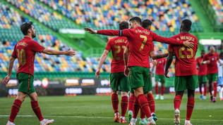 Il Portogallo avvisa le rivali: poker a Israele, a segno anche CR7