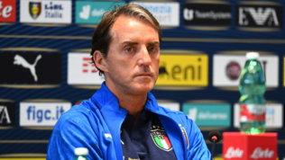"""Mancini: """"Vogliamo arrivare a Londra divertendo""""   Chiellini: """"C'è voglia di rivincita"""""""