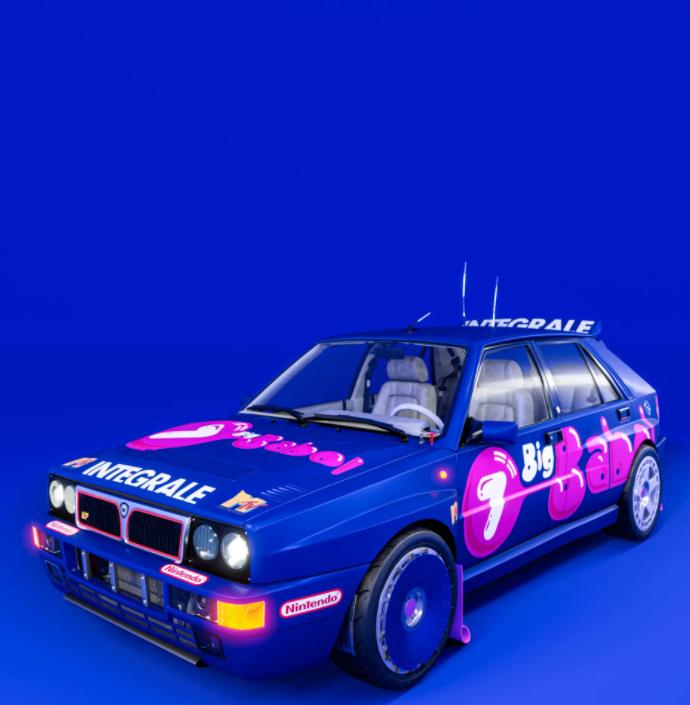 Tutti hanno in mente l&#39;iconica Lancia Delta Martini, ma Garage Italia ha deciso di uscire dagli schemi ridisegnando, con CGGI,&nbsp;la livrea dell&#39;Integrale EVO 2 con i colori della Big Babol. Colpo d&#39;occhio unico che sui social ha riscosso molto successo.<br /><br />