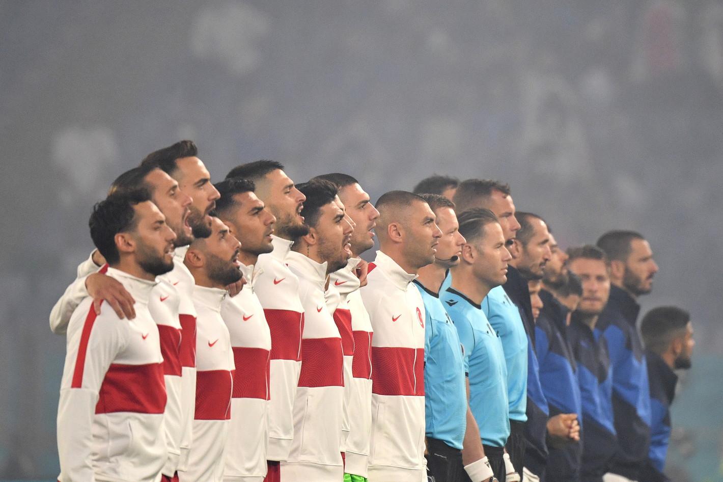 Le immagini della sfida dell&#39;Olimpico tra Turchia e Italia, partita inaugurale di Euro 2020<br /><br />