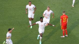 Euro LIVE: Galles-Svizzera 0-1 Embolo trova il gol del vantaggio