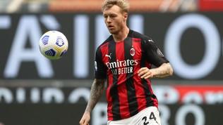 Il Milan vuole premiare Kjaer: pronta la prossima fascia da capitano