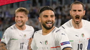 """Dedicata a Insigne la prima """"Instant Card"""" azzurra di Euro 2020"""