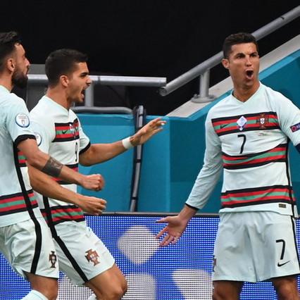 CR7 spazza via l'Ungheria e supera Platini: tris del Portogallo