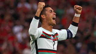Meglio di Sheva e Platini, Ronaldo nella storia degli Europei