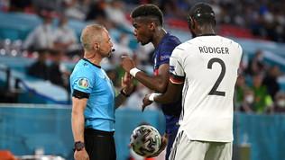 """Pogba: """"Rudiger mi ha morso. Ma non voglio che venga punito"""""""