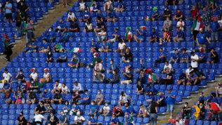 Stadio Olimpico con 25% dei tifosi