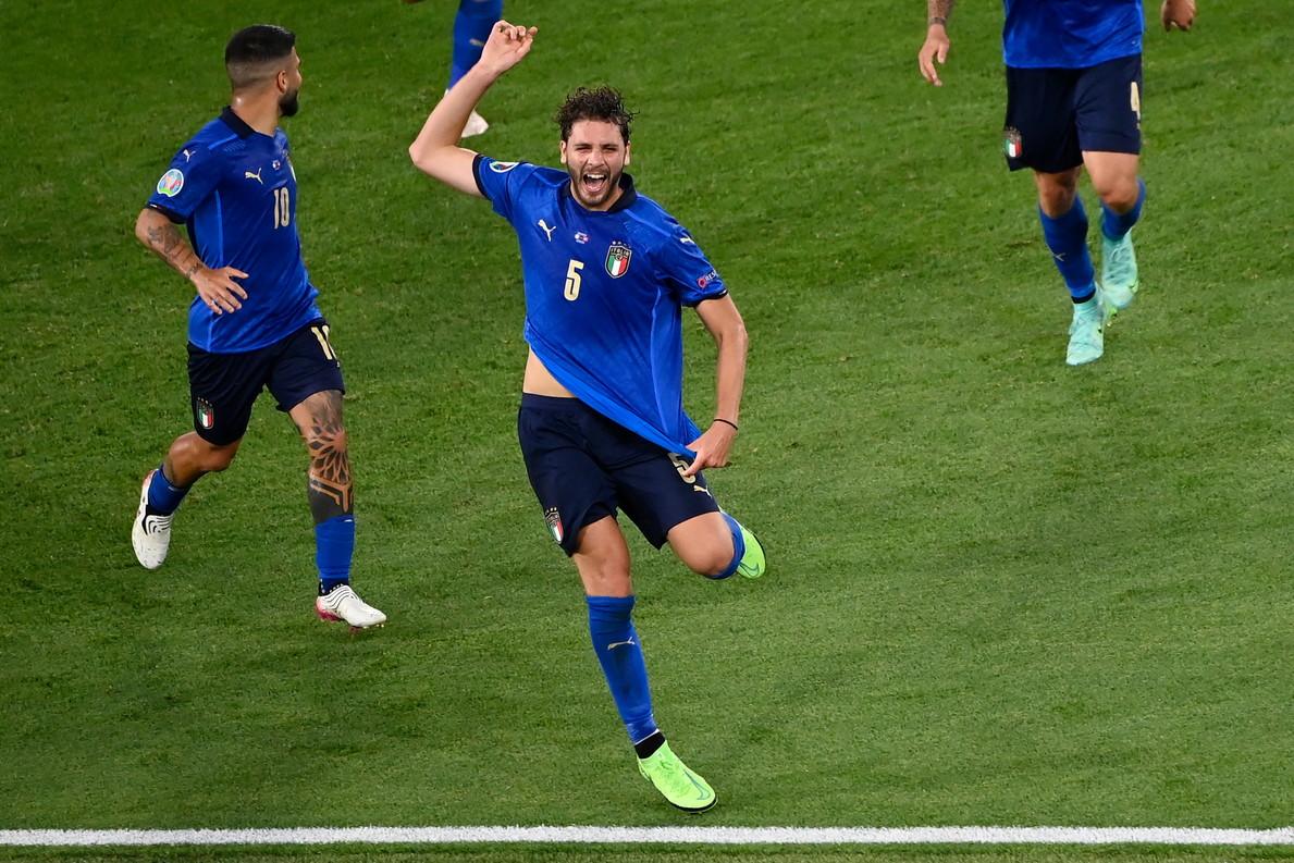Le immagini della sfida dell&#39;Olimpico di Roma tra la Nazionale di Mancini e i rossocrociati di Petkovic per Euro 2020<br /><br />