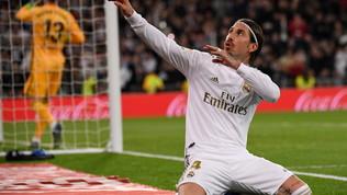 """Real, Ramos in lacrime: """"Si chiude una tappa unica, voglio altri titoli"""""""