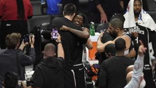 Clippers, prime finali di Conference con una rimonta pazzesca. Gallo non basta