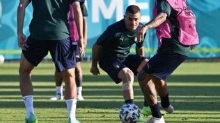 """Mancini: """"Con il Galles è il momento di cambiare, Verratti può giocare"""""""
