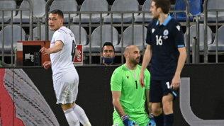 """Belotti: """"Mi sento un titolare, l'Italia vuole arrivarein fondo"""""""