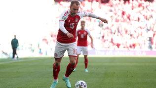 """Eriksen nel ritiro della Danimarca, i compagni: """"Ci ha dato la carica"""""""