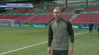 Eriksen è tornato a casa