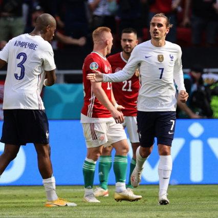 Ungheria, che colpo! Francia fermata sul pari, Griezmann non basta