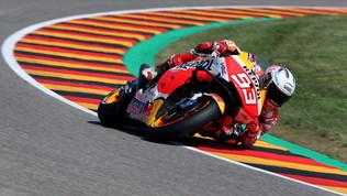 MotoGp: Marquez da urlo, undicesima vittoria al Sachsenring