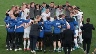 Danimarca, che festa al fischio finale