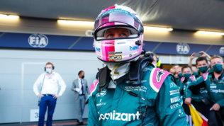 Vettel, uno stoico in Formula 1