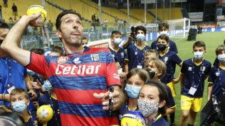 Gianluigi Buffon si riprende la sua Parma