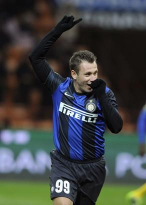 ANTONIO CASSANO: dal Milan all'Inter nel 2012