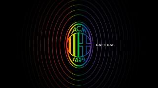 Milan in difesa dei diritti LGBT e anche la Uefasi tinge di arcobaleno