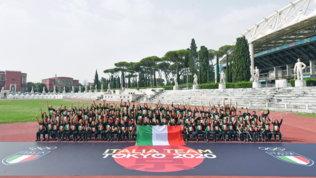 Tokyo 2020, gli azzurri al Quirinale da Mattarella per il tricolore