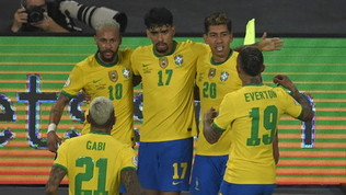 Casemiro regala al 100' il primo posto al Brasile, Lapadula salva il Perù