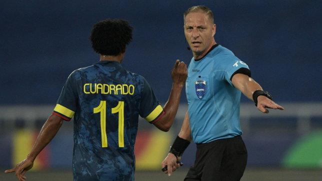 """Colombia ko al 100', Cuadrado grida al furto: """"Le regole sono regole"""""""