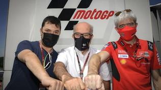 Due Ducati per l'Aramco Racing Team VR46 di Rossi e il sogno... Valentino