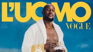 """Lukaku""""Uomo di luglio"""": in mutande in prima pagina"""