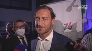 """Euro 2020, Totti: """"Italia, può essere l'anno giusto"""""""