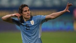 Cavani porta l'Uruguay ai quarti, sconfitta brutta ma indolore per il Cile